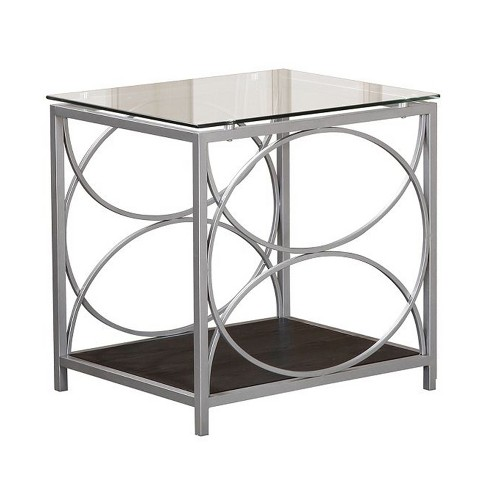 End Table Silver - Home Source Industries - image 1 of 3
