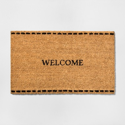 18  x 30  Door Mat Welcome Coir - Hearth & Hand™ with Magnolia