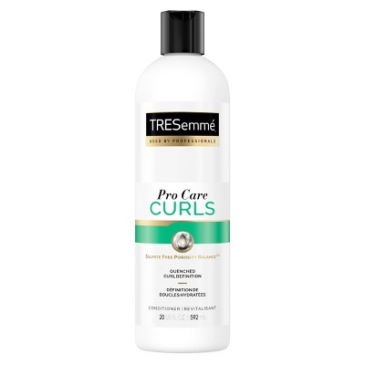 Tresemme Pro Care Curls Sulfate Free Porosity Balance Curl Definition Conditioner