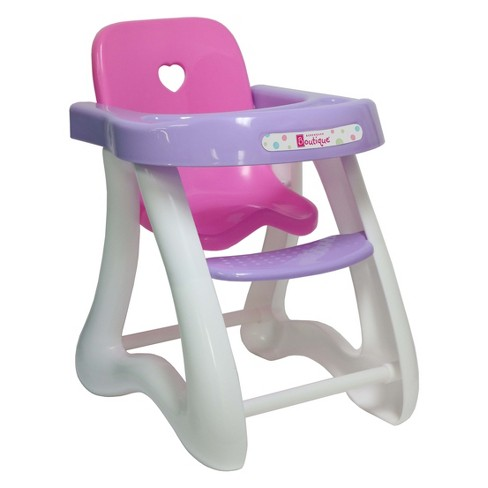 "JC Toys For Keeps! High Chair - Fits Dolls Up To 16"" - image 1 of 3"