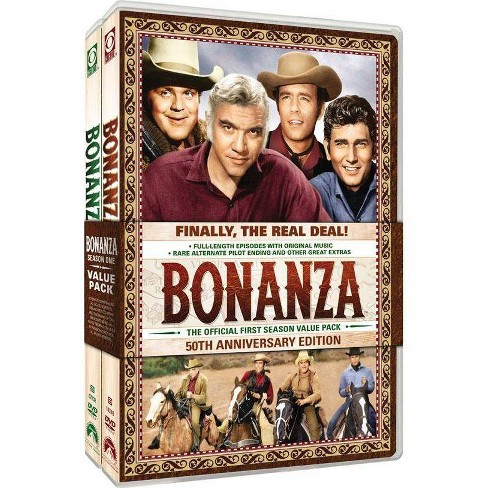 Bonanza: The Official First Season (DVD) - image 1 of 1