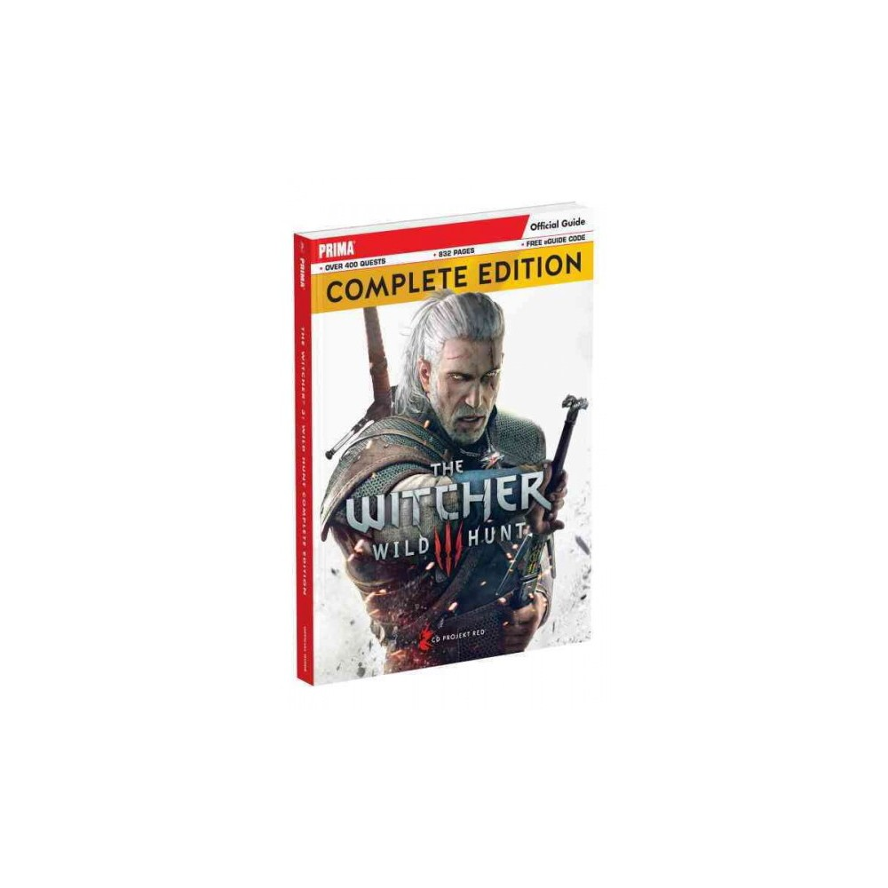 Witcher 3 Wild Hunt : Prima Official Guide-Complete Edition (Paperback) (David Hodgson)