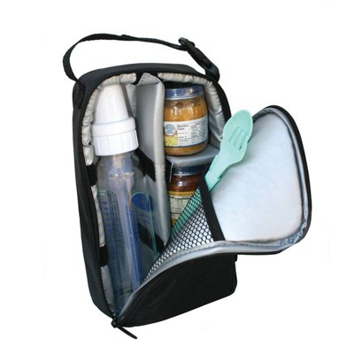 J.L. Childress Pack N' Protect Tote for Glass Bottles and Jars - Black