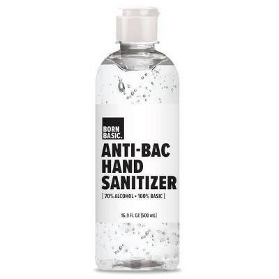 Born Basic Hand Sanitizer - 16.9 fl oz