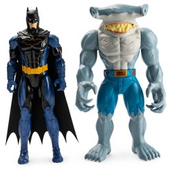 "DC Comics Batman & Exclusive King Shark 12"" Action Figures"