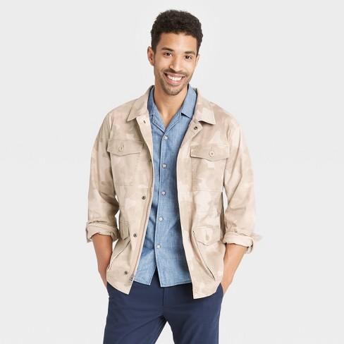 Men's Pocket Trucker Jacket - Goodfellow & Co™ - image 1 of 2
