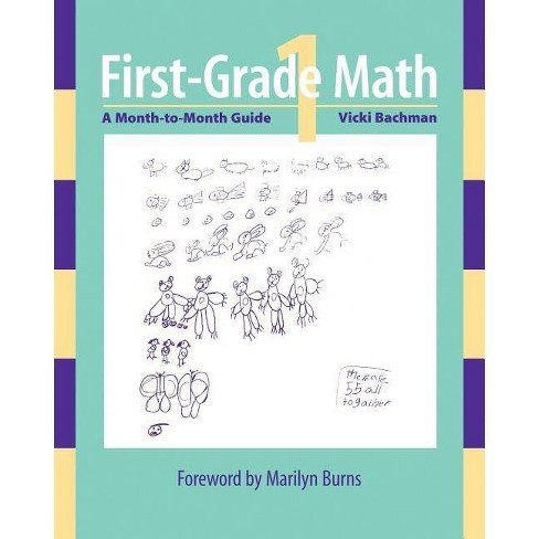 First-Grade Math - by  Vicki Bachman (Paperback) - image 1 of 1