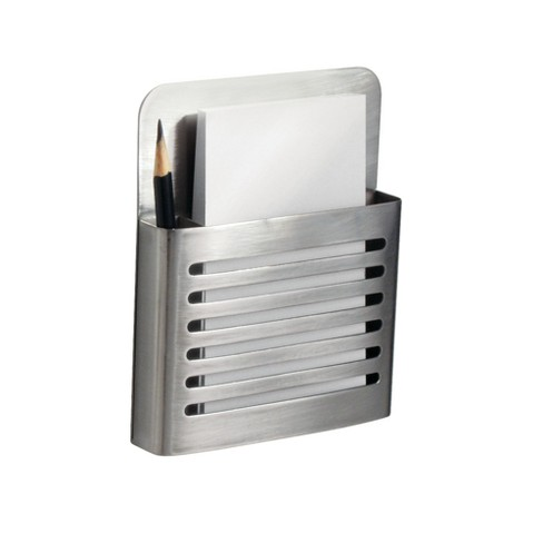 InterDesign Forma Stainless Steel Magnetic Memo Center Brushed - image 1 of 2
