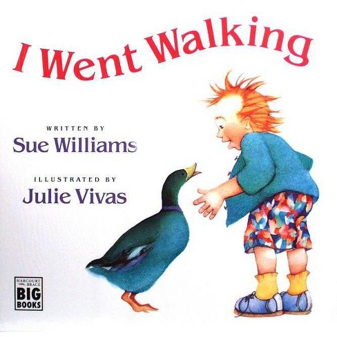 I Went Walking - (HMH Big Books) by  Sue Williams (Paperback) - image 1 of 1