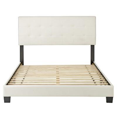 Macie Leather Low Profile Platform Bed - Eco Dream