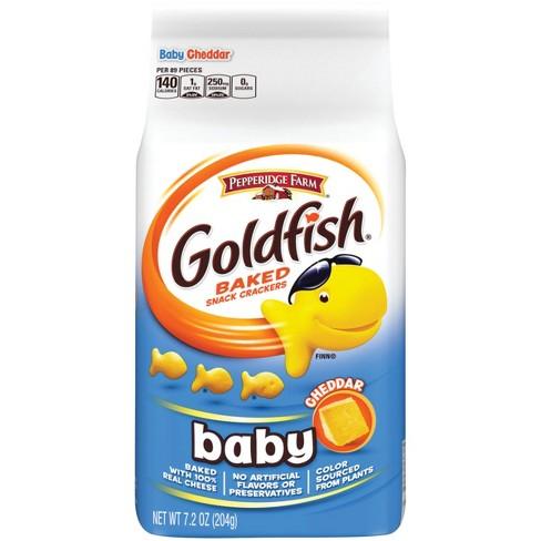 Pepperidge Farm® Goldfish® Baby Cheddar Crackers, 7.2oz Bag - image 1 of 6