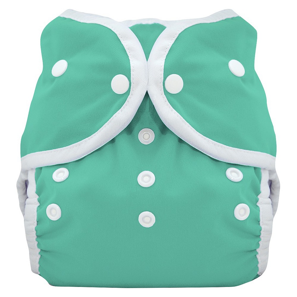 THIRSTIES BABY Snap Duo Wrap, Moss (Green) - Size Two, In...