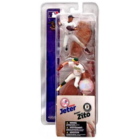 McFarlane Toys MLB New York Yankees / Oakland Athletics Sports Picks 3 Inch Mini Series 1 Derek Jeter and Barry Zito Mini Figure 2-Pack - image 1 of 1