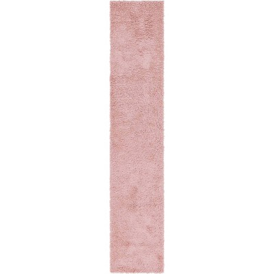 Davos Shag Rug Rose - Unique Loom