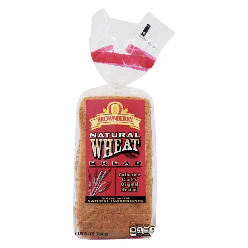 Brownberry® Natural Wheat Bread - 24oz - image 1 of 4