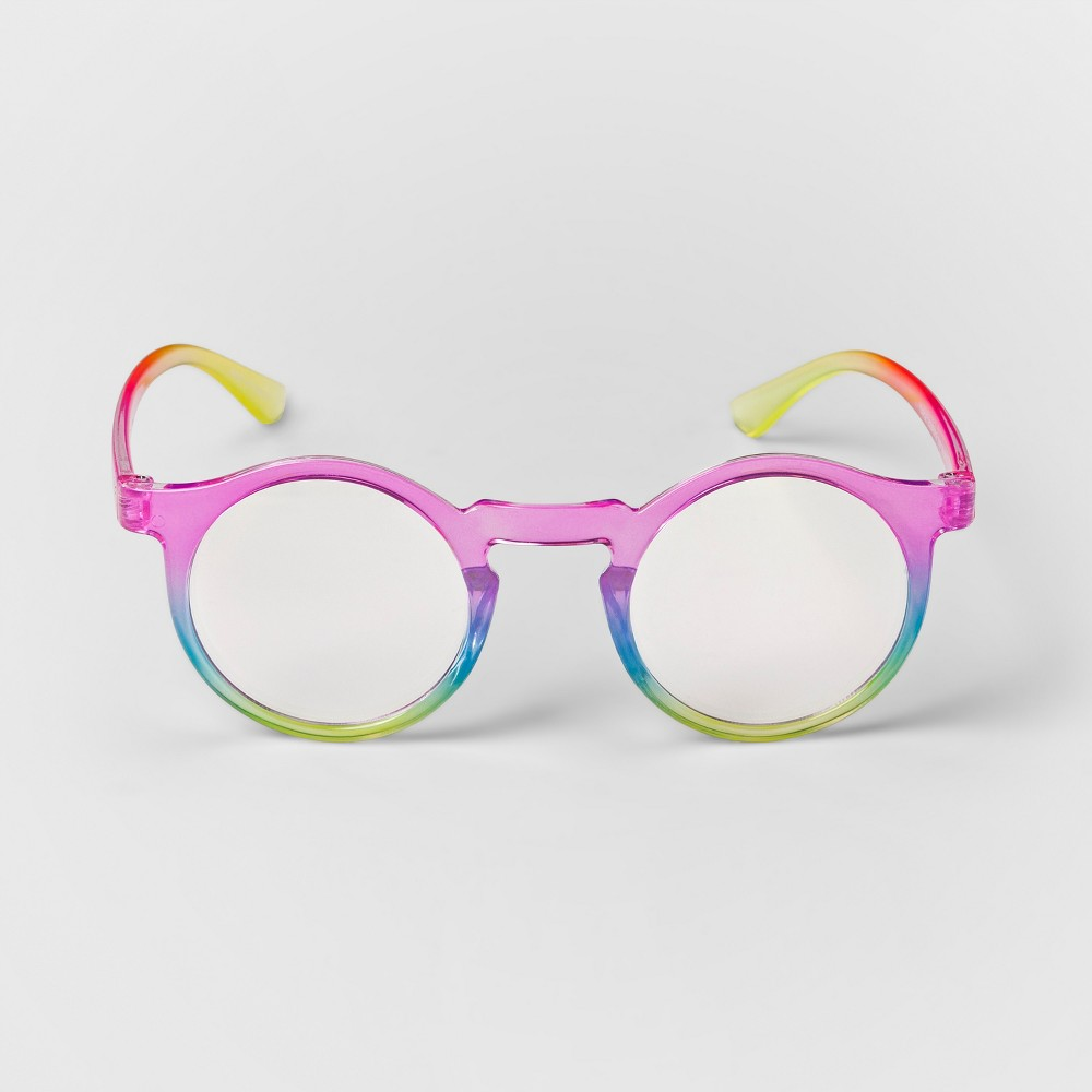Girls' Round Reading Glasses - Cat & Jack Pink