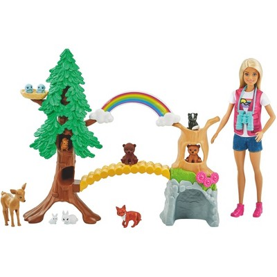 Barbie Careers Wilderness Guide Interactive Playset
