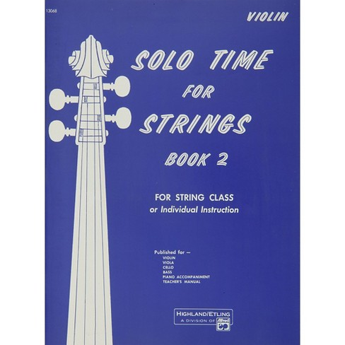 Alfred Solo Time for Strings Book 2 Violin - image 1 of 1