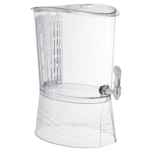 CreativeWare 3gal Acrylic with Flavor Infuser Beverage Dispenser - Clear - image 1 of 2