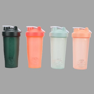 4ct 18oz Shaker Water Bottles - Bullseye's Playground™