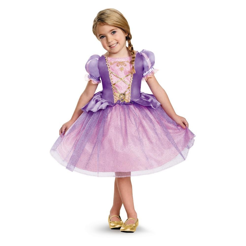 Girls' Disney Princess Rapunzel Halloween Costume S, Multi-Colored