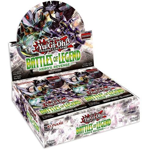 YuGiOh Battles of Legend: Hero's Revenge Booster Box [24 Packs] [Sealed] - image 1 of 1