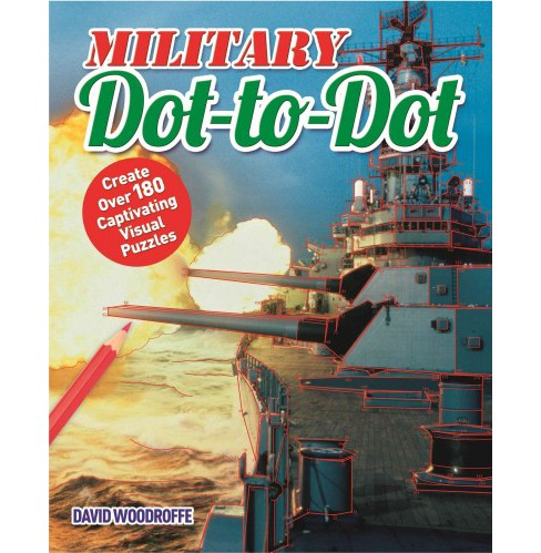 Military Dot-to-dot (Paperback) (David Woodroffe) - image 1 of 1