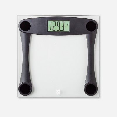 Glass Personal Scale Black - Weight Watchers