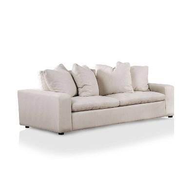 Cipriani Track Arms Sofa Cream - miBasics