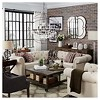 Beekman Place Two & Two Chesterfield Sectional Oatmeal - Inspire Q - image 4 of 4