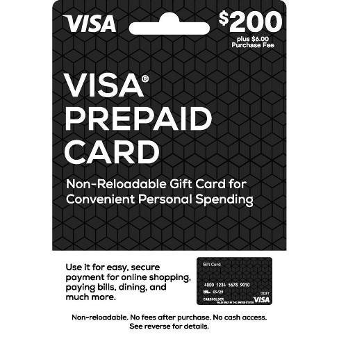 Visa Prepaid Card - $7 + $7 Fee : Target