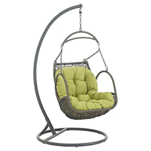 Arbor Outdoor Patio Wood Swing Chair Modway Target