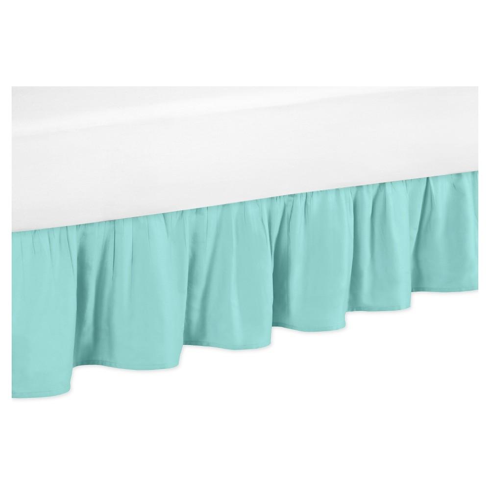 Turquoise Bed Skirt - Sweet Jojo Designs