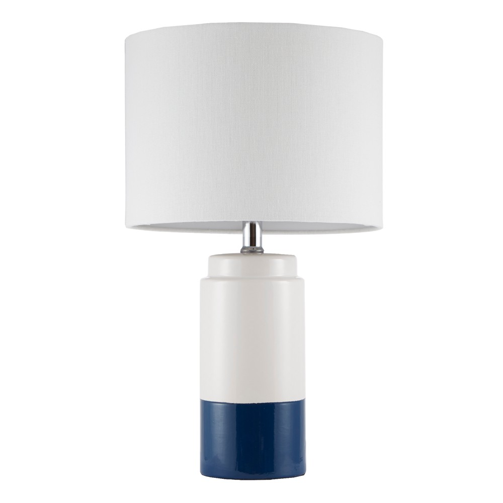 "Image of ""11"""" x 11"""" Bailey Table Lamp Navy (Lamp Only), Blue"""