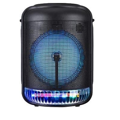 8'' Bluetooth Speaker Aux input - RGB lighting - 1500mAh battery built in battery - 8W Amplifier RMS