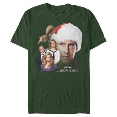 Men's National Lampoon's Christmas Vacation Griswold Family Portrait T-Shirt