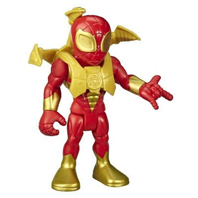 """Playskool Heroes Marvel Super Hero Adventures 5"""" Iron Spider Action Figure with Spider-Arms Accessory"""