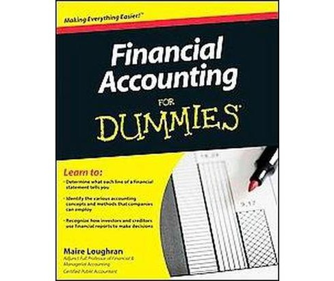 Financial Accounting for Dummies (Paperback) (Maire Loughran) - image 1 of 1