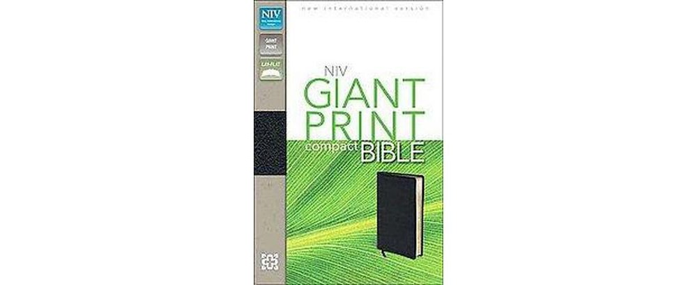 Zondervan Holy Bible : New International Version, Black, ...