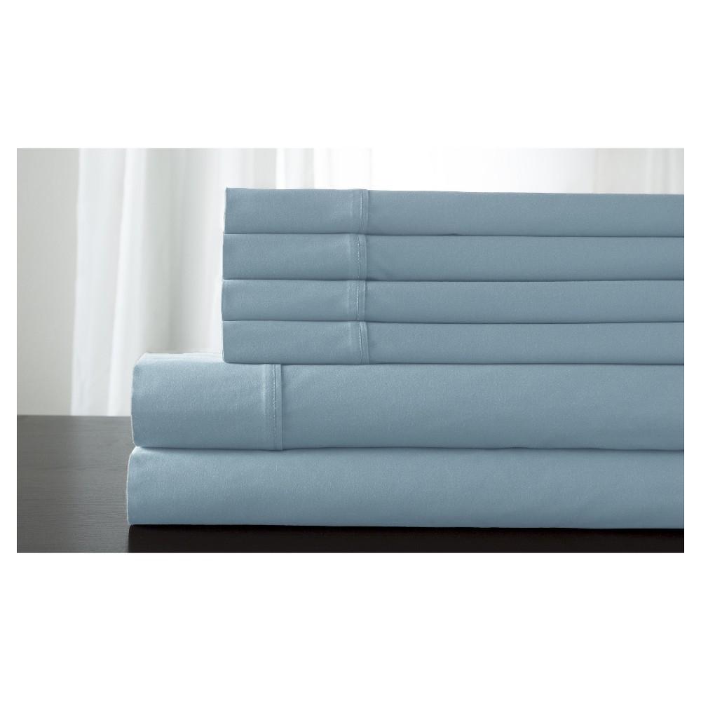 Camden 100% Cotton Bonus Sheet Set (Twin) Sky Blue
