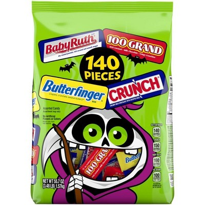 Ferrero Mainstream Chocolate Halloween Variety Pack - 55.7oz/140ct