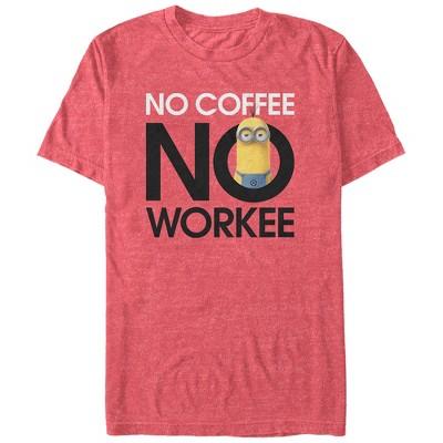 Men's Despicable Me Minion No Coffee T-Shirt