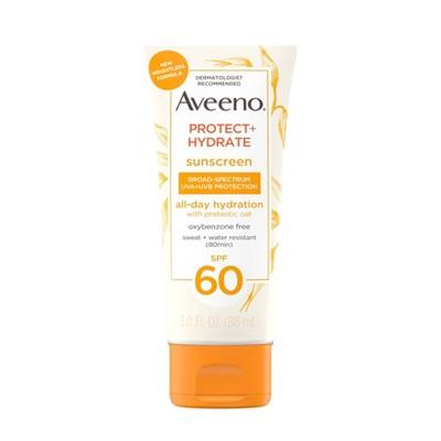 Aveeno Protect & Hydrate Sunscreen Body Lotion - SPF 60 - 3 fl oz