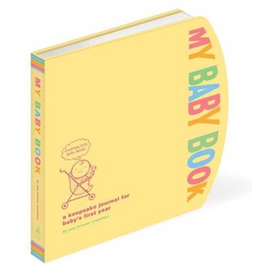 My Baby Book (Notebook / Blank Book)(Amy Krouse Rosenthal)
