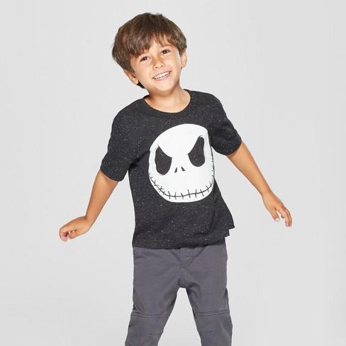 toddler boys disney the nightmare before christmas jack skellington short sleeve t shirt black