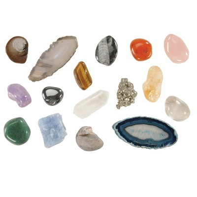 Kaplan Early Learning Company Let's See Nature Collection with Fossils, Rocks, Mineral and More