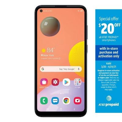AT&T Prepaid Samsung A11 (32GB) - Black