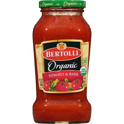 Bertolli Organic Traditional Tomato & Basil Pasta Sauce - 24oz