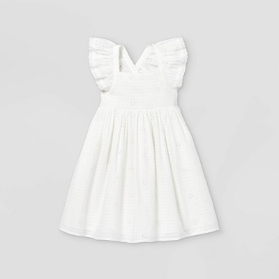 Toddler Girls' Ruffle Sleeve Dress - Cat & Jack™