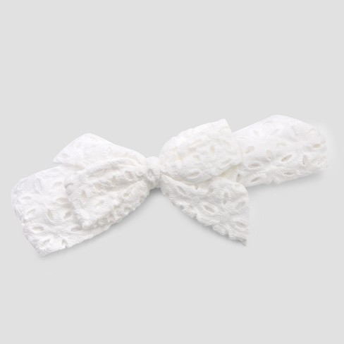 Girls' Eyelet Bow Headband - Cat & Jack™ - image 1 of 1
